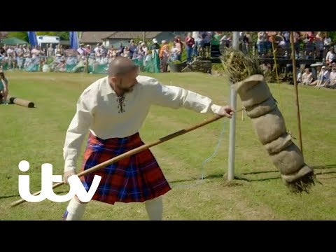 Gordon, Gino and Fred: Road Trip   Fred Takes on Gordon in the Highland Games   ITV