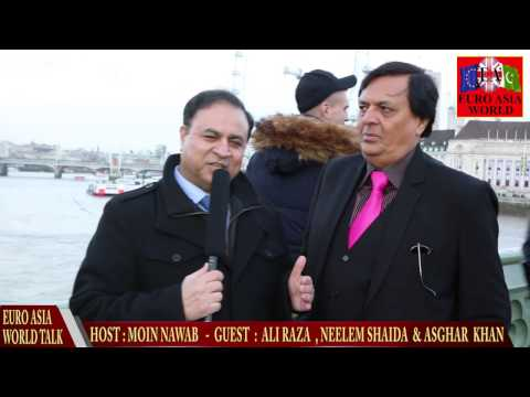 EURO ASIA WORLD, ALI RAZA EXCLUSIVE INTERVIEW WITH MOIN NAWAB