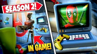 *NEW* FINDING ALL DEADPOOL SECRET *MESSAGES* IN-GAME IN SEASON 2! (Battle Royale)
