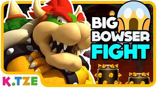 Triple Bowser Fight 😱😤 Super Mario Maker 2 | K.Tze