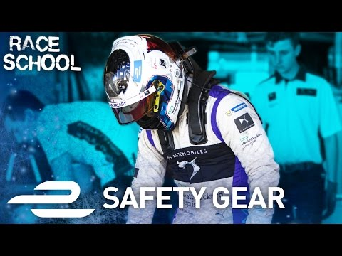 Race School: Safety Gear Explained - Formula E