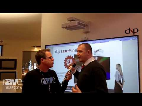 ISE 2016: Gary Kayye Interviews Johnny Jensen, Senior Product Manager, of dnp About LaserPanel