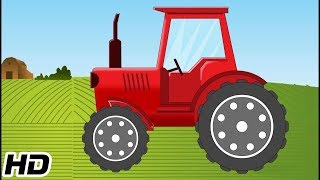 Tractor Videos For Kids To Learn | 3D Animation Car Videos | Shemaroo Kids