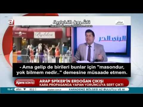 ARAP SPİKER ORTADOĞU'YA ERDOĞAN DERSİ VERDİ
