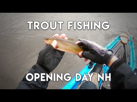 Opening Day Trout Fishing 2019 In New Hampshire - Lots Of Rain And Wind