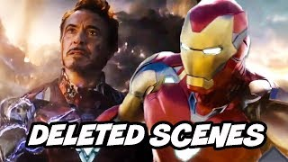 Avengers Endgame Deleted Scenes - Iron Man Ending and The Mandarin Returns Breakdown