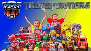 TRANSFORMERS Toys Collection | Rescue Bots | Starscream Decepticons | Lucas & Ryan | LRH & Toyz