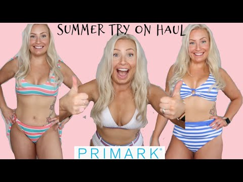 HUGE PRIMARK SUMMER & SWIMWEAR TRY ON HAUL! | MAY 2019 | NEW IN FASHION