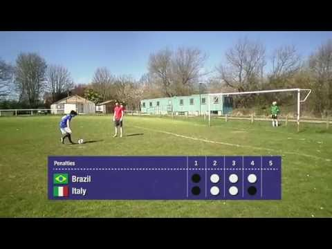Roberto Baggio USA 94 Penalty Miss Recreated - Phoenix From The Flames