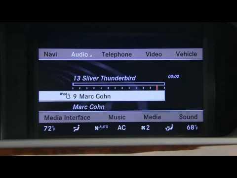 mercedes benz ipod media interface youtube. Black Bedroom Furniture Sets. Home Design Ideas