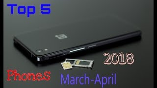 Best 5 Upcoming Smart Phone March-April 2018