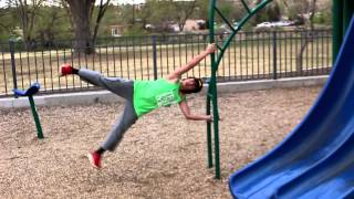 12 Year Old Parkour and Freerunning-