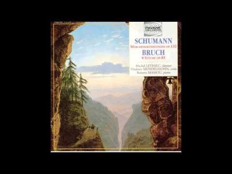 Michel Lethiec, Vladimir Mendelssohn, Roberte Mamou - 8 Stücke für Klarinette, Bratsche und Klavier,