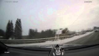 Женщина-водитель погибла в ДТП | Коми, ноябрь 2014