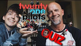 Quizzing my dad on Twenty One Pilots (PRE TRENCH)