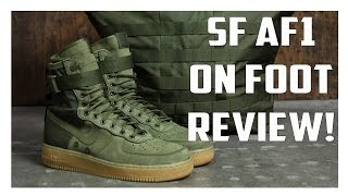 the shoes with secret pockets sf af1 on foot review