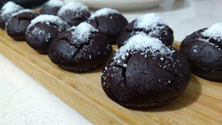 Yedikce Yedirten Tam Ölçülü Islak Kurabiye Browni kurabiye Seval Mutfakta