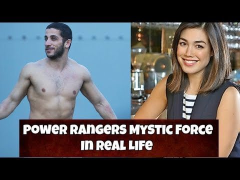 Mystic Force Power Rangers In Real Life