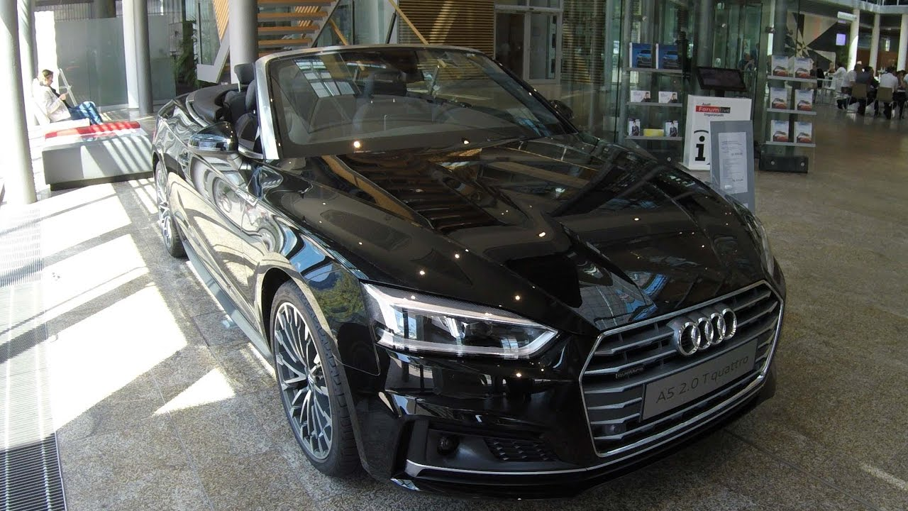 Audi A5 2.0 T >> AUDI A5 CABRIOLET NEW MODEL COMPILATION 2: BLACK AND WHITE ...