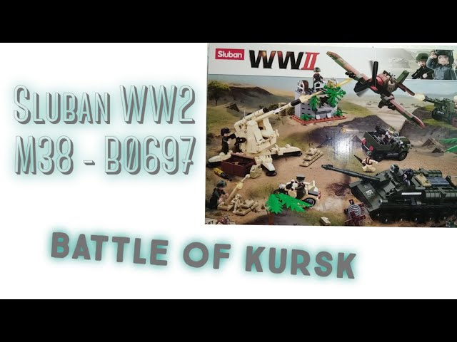 (Teil 1) Sluban WW2 M38-B0697 - Battle of Kursk / Review [German]