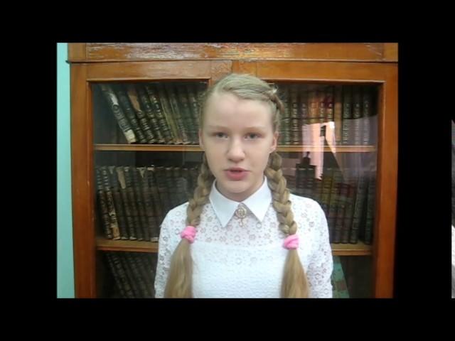 Изображение предпросмотра прочтения – МиланаЕфимова читает произведение «Памятник» Н.М.Рубцова