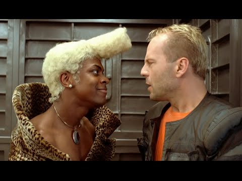 Le Cinquième Élément - Ruby Rhod (Chris Tucker) & Korben Dallas (Bruce Willis)из YouTube · Длительность: 2 мин55 с