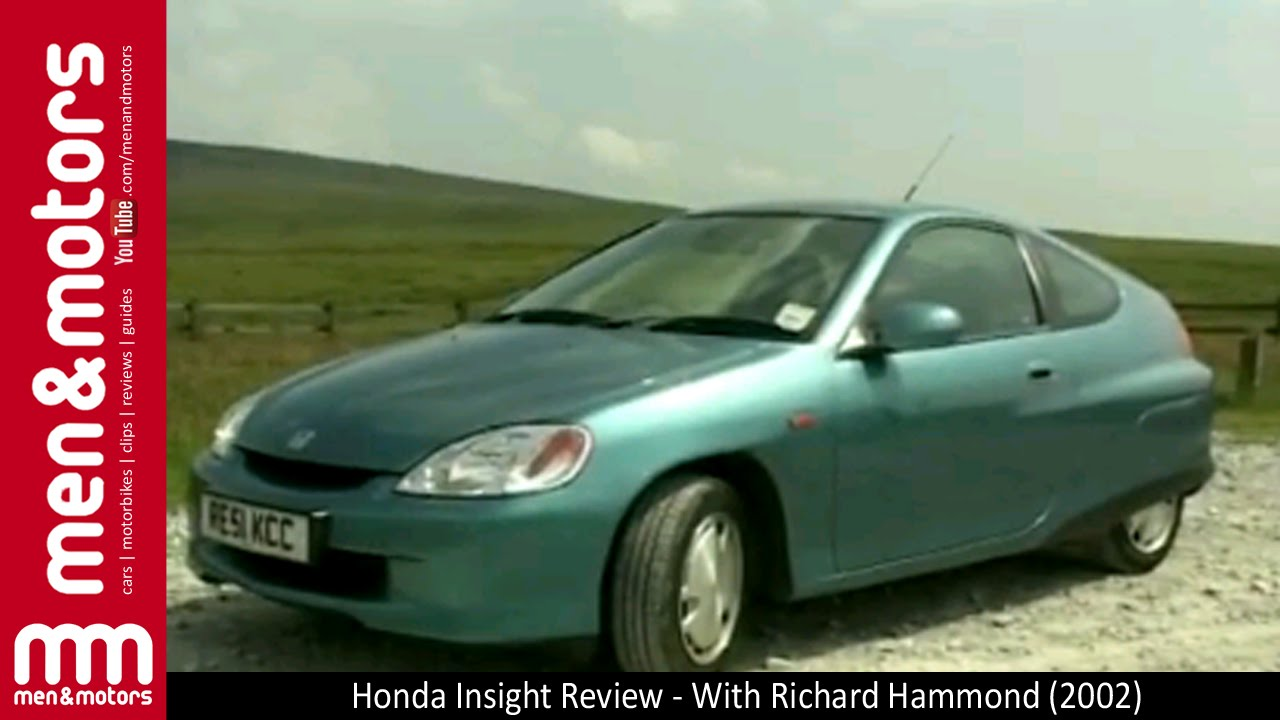 honda insight review with richard hammond 2002 youtube. Black Bedroom Furniture Sets. Home Design Ideas