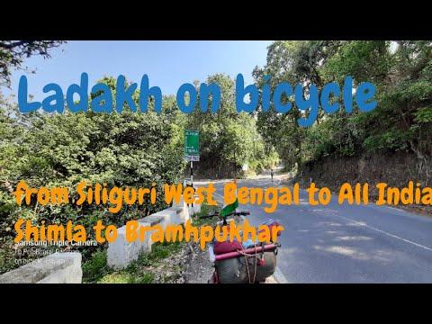Ladakh on Bicycle  journey  from Shimla to Bramhpukhar thumbnail