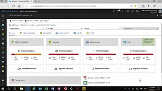 Getting the most out of Azure resources with Azure Advisor