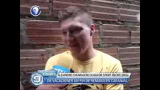 Entrevista: ALEJANDRO CHUMACERO un fin de semana en Caranavi,.