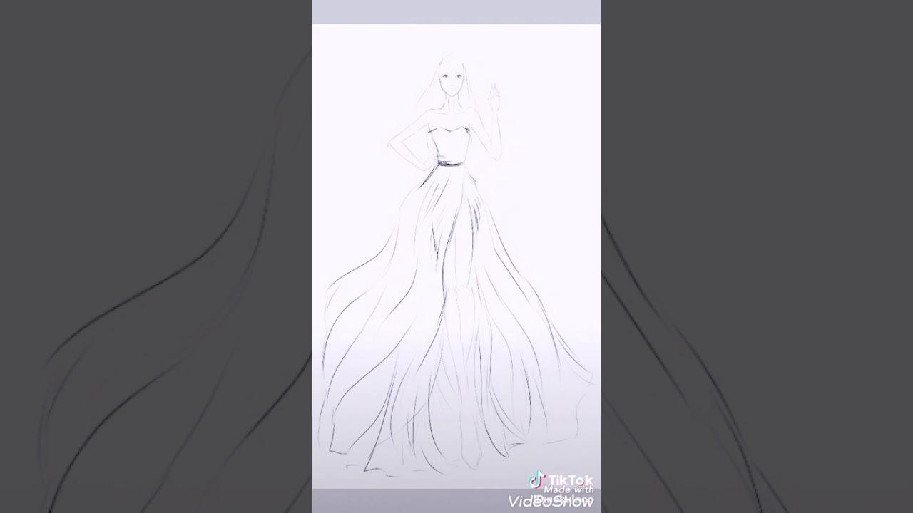 Khi các cao thủ thiết kế thời trang chơi tiktok phần 2 | Học thiết kế thời trang | #VVS | Tất tần tật thông tin về thời trang nữ