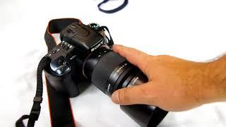 Sony a350 alpha DSLR camera review