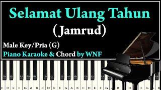 Download lagu Jamrud - Selamat Ulang Tahun Piano Karaoke Versi Pria | Synthesia Piano