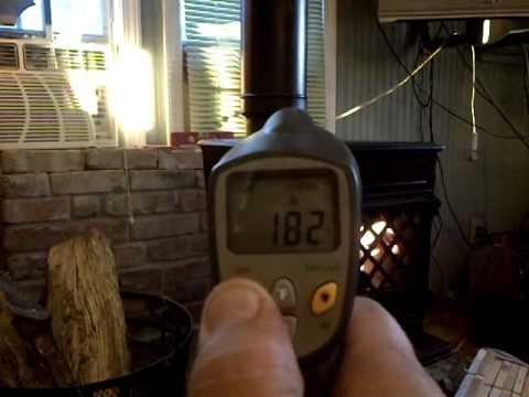 Jotul 602 Wood Stove first burn video - YouTube