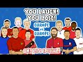 YOU LAUGH, YOU LOSE ft. Lewandowski, CR7, Mbappe & more! ► Onefootball x 442oons