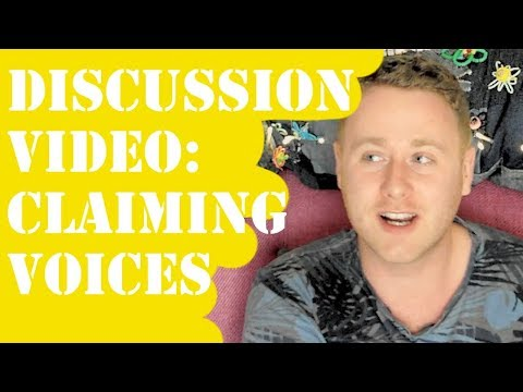 Disscussing claiming voices in queer fiction