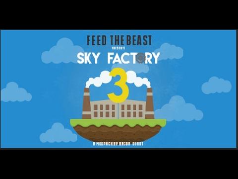 Minecraft Let's Play SkyFactory 3 - Episode 7 - Second Floor Mishap