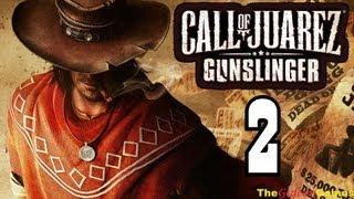 Прохождение Call of Juarez: Gunslinger на высокой сложности [HD] - Часть 2 (Привет, Боб!)