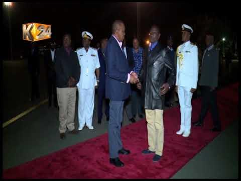President Kenyatta in Washington for talks with Trump