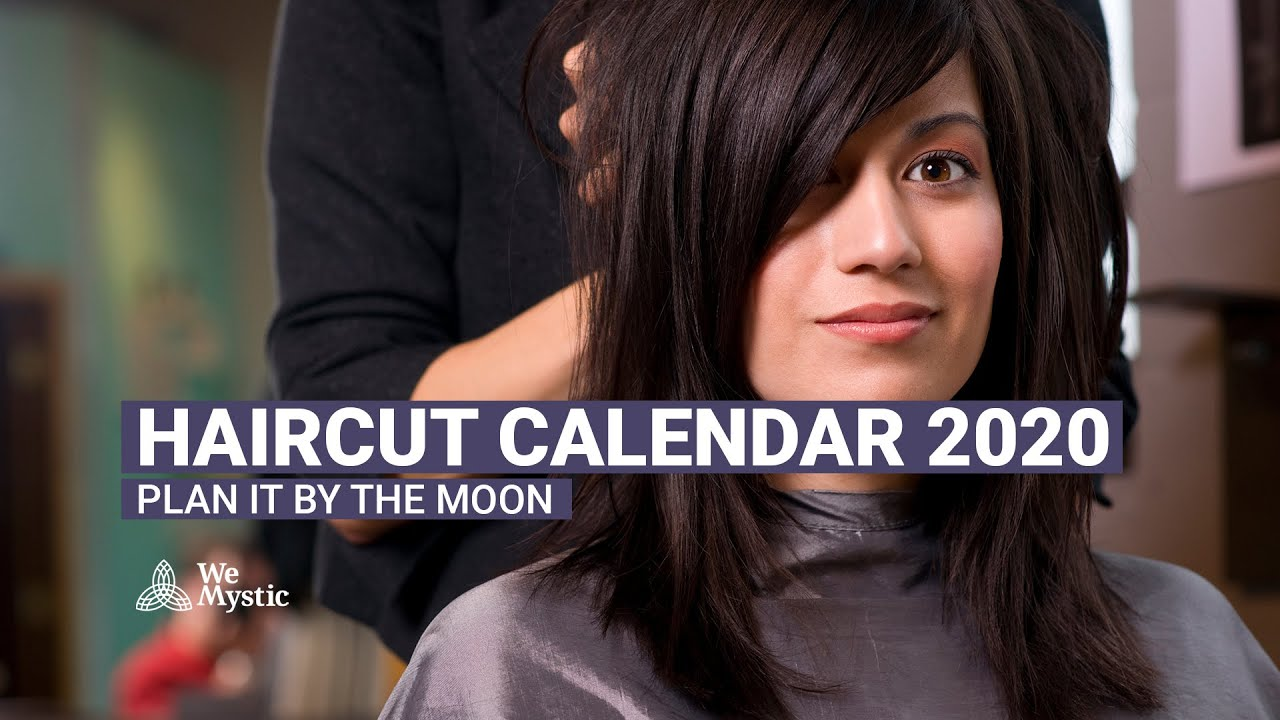 Haircut calendar 10: plan it by the moon - WeMystic