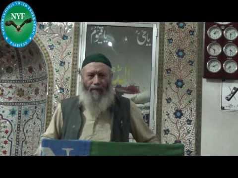 Molana Rustam ali anjum sahab ka JMSN Awami colony khi me Khitab