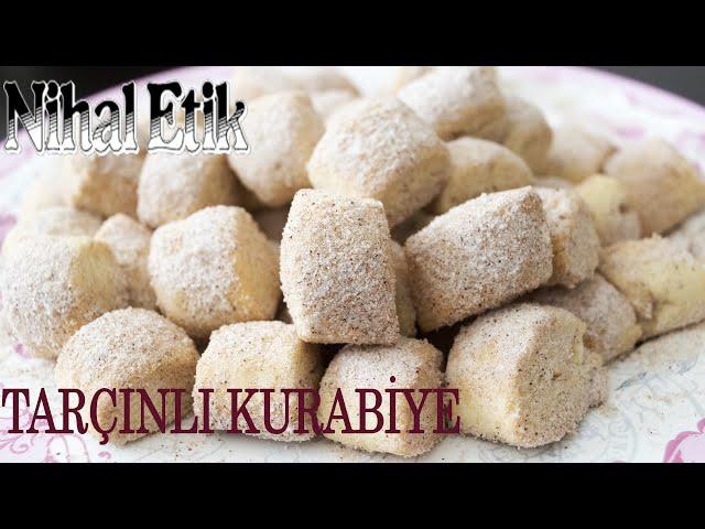 LOKMALIK TARÇINLI KURABİYE #evdekal dığımız bugünlerde yapacağınız çok lezzetli bir kurabiye