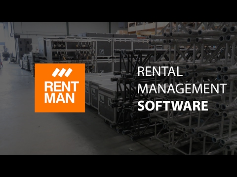 Rentman: The New Generation Of Cloud Rental Software