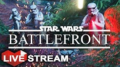 Star Wars Battlefront | The Empire Strikes Back | Multiplayer Live Stream (Part 34)