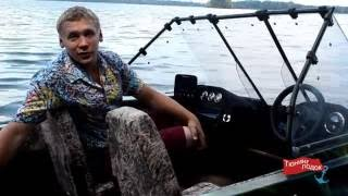 Тюнинг лодок. Обзор лодки Крым (мотор Yamaha 60 hp)