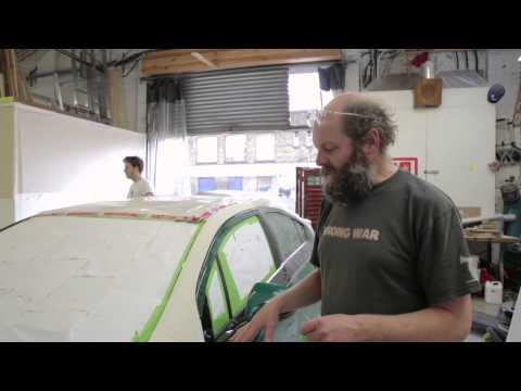 Gavin Turk's Canvas | Vauxhall Ampera