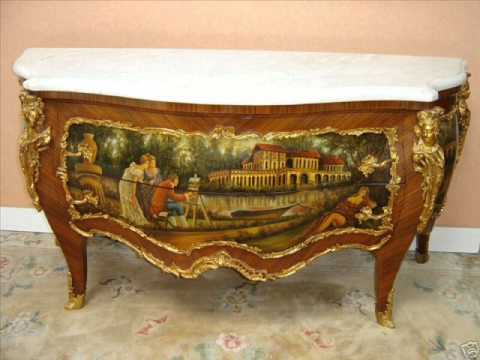 Louis Xv French Commode-Louis Xv French Cabriole Legs.