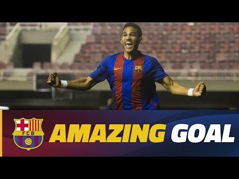 YOUTH LEAGUE: Amazing goal by Mboula against Borussia Dortmund