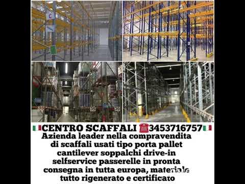 Scaffali industriali usati scaffalature metalliche scaffali in