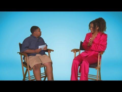 Kid Reporter Jaden Sits Down with Naomi Osaka